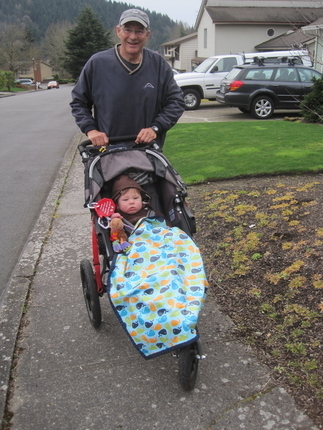 Image Jogging with Grandpa