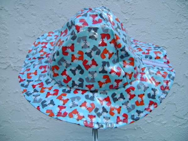 Baby and Kids Rain Hat with Brim | Waterproof, Water-Resistant brimmed hat