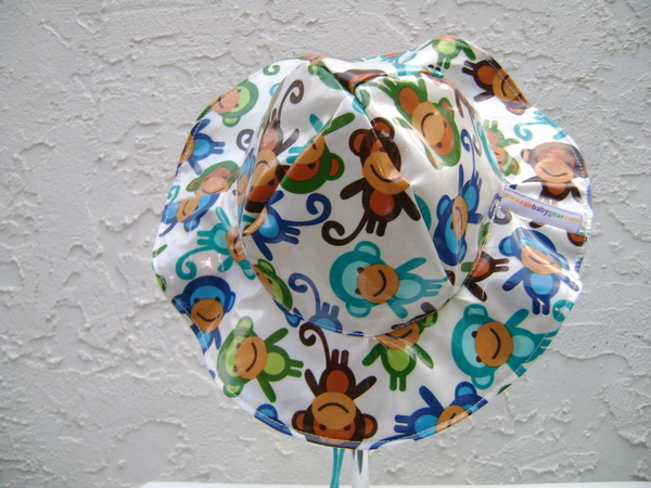 Brimmed Rain Hat for kids, babies, and toddlers | Rainproof kid hat and baby hat